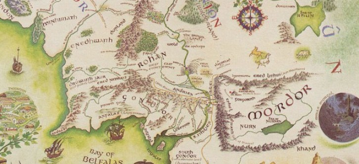 Bodleian Acquires Unique Map of Middle Earth | The New Antiquarian ...