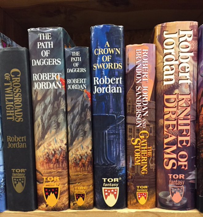 Wheel of Time Book Club Editions