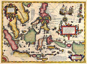 Map Of Southeast Asia By Jodocus Hondius 1606from The Mercator Atlas