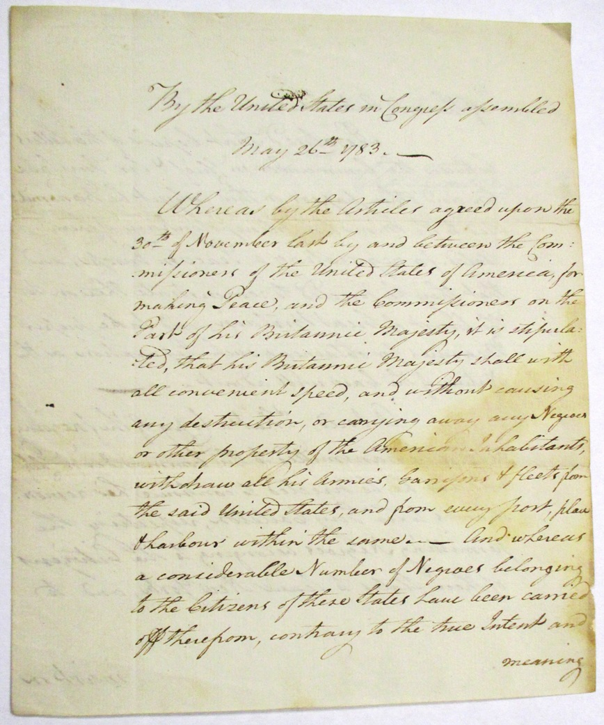 Continental Congress' Resolution