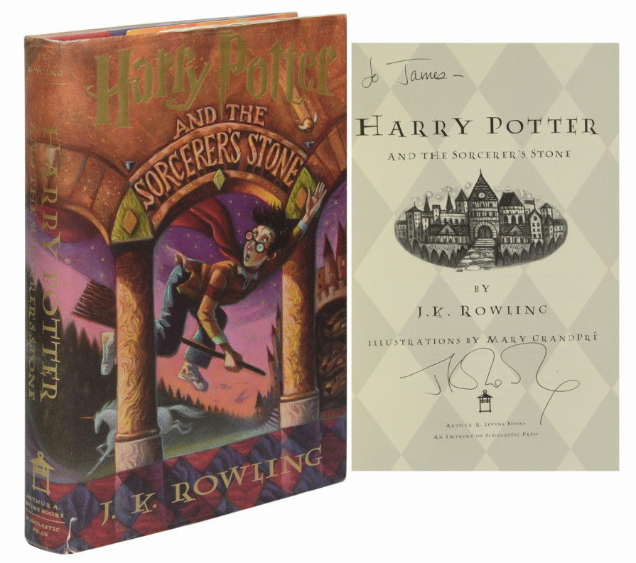 Harry Potter and the Sorcerer's Stone (Signed, First Edition)
