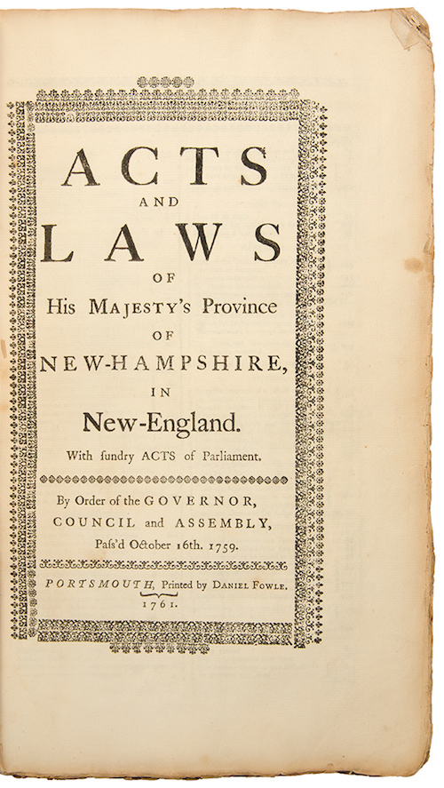 Acts & Laws