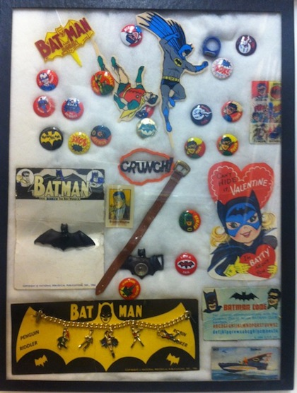 Batman Pins from Chip Kidd Collection