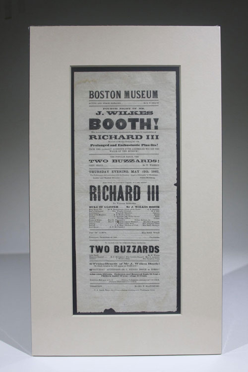 J. Wilkes Booth (Playbill)