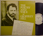 Caedmon LP, The Poetry and Voice of Geoffrey Hill