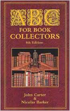 ABC for Book Collectors by John Cater