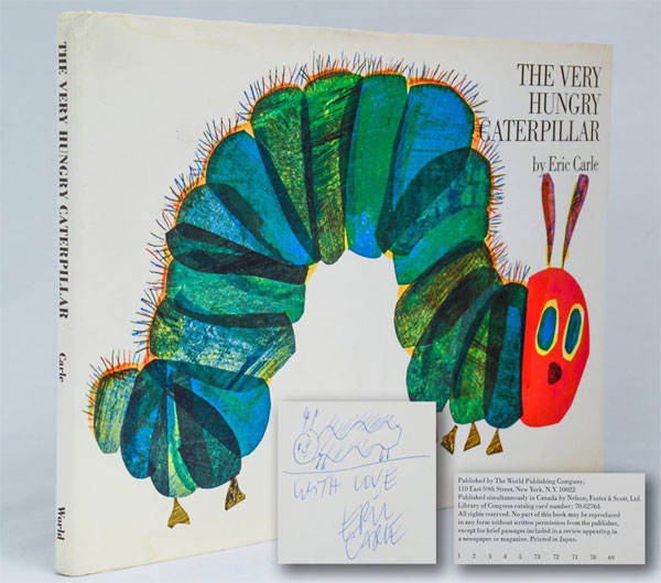 The Very Hungry Caterpillar (First Edition, Signed)