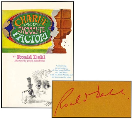 Charlie & the Chocolate Factory (Signed)