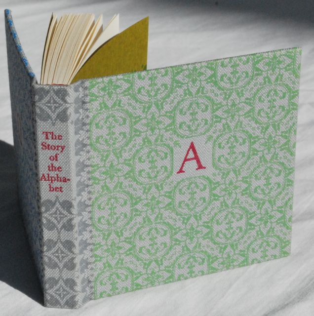 Cover, The Story of the Alphabet