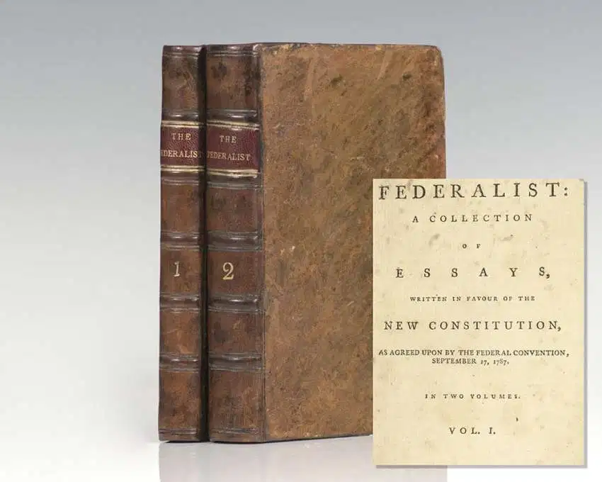 The Federalist, First Edition