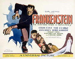 Lobby card, Frankenstein (1931)