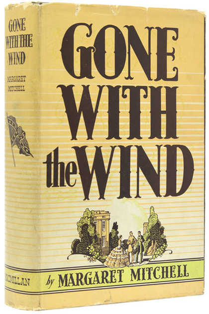 Gone With the Wind, Signed first edition