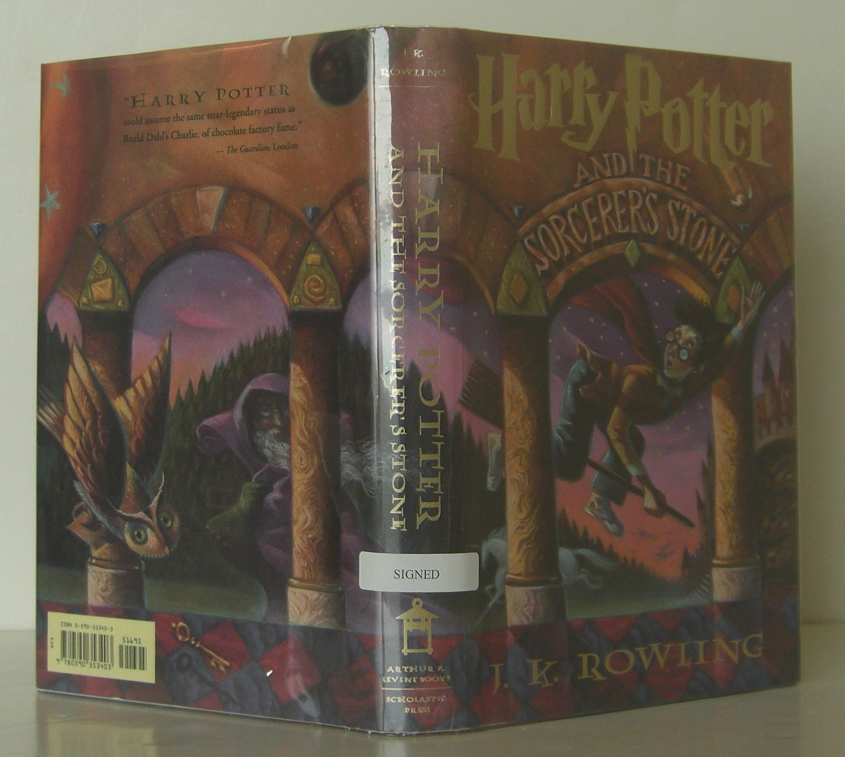 Harry Potter, First US Edition