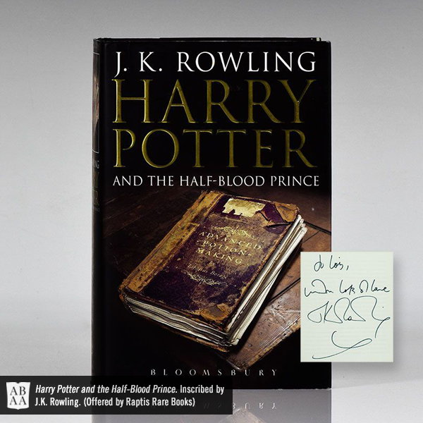 Half-Blood Prince, Inscribed by Author