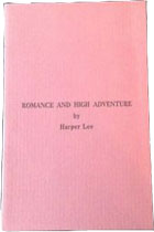 Romance and High Adventure (pamphlet) by Nelle Harper Lee
