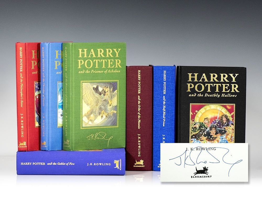 Harry Potter Deluxe Editions