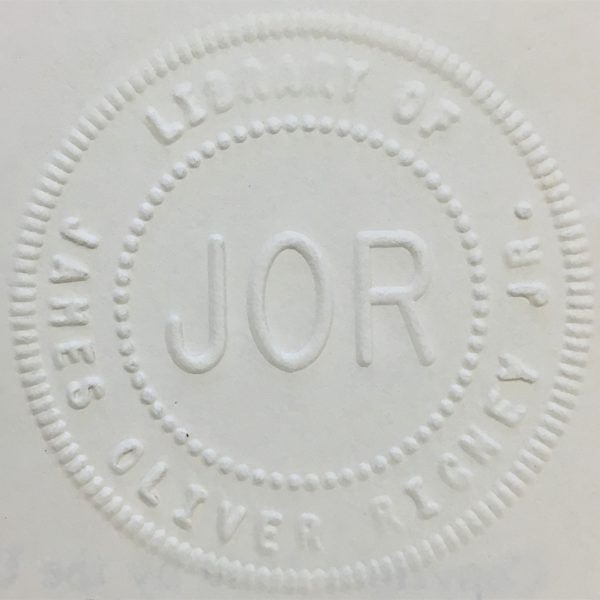 JOR Library Stamp