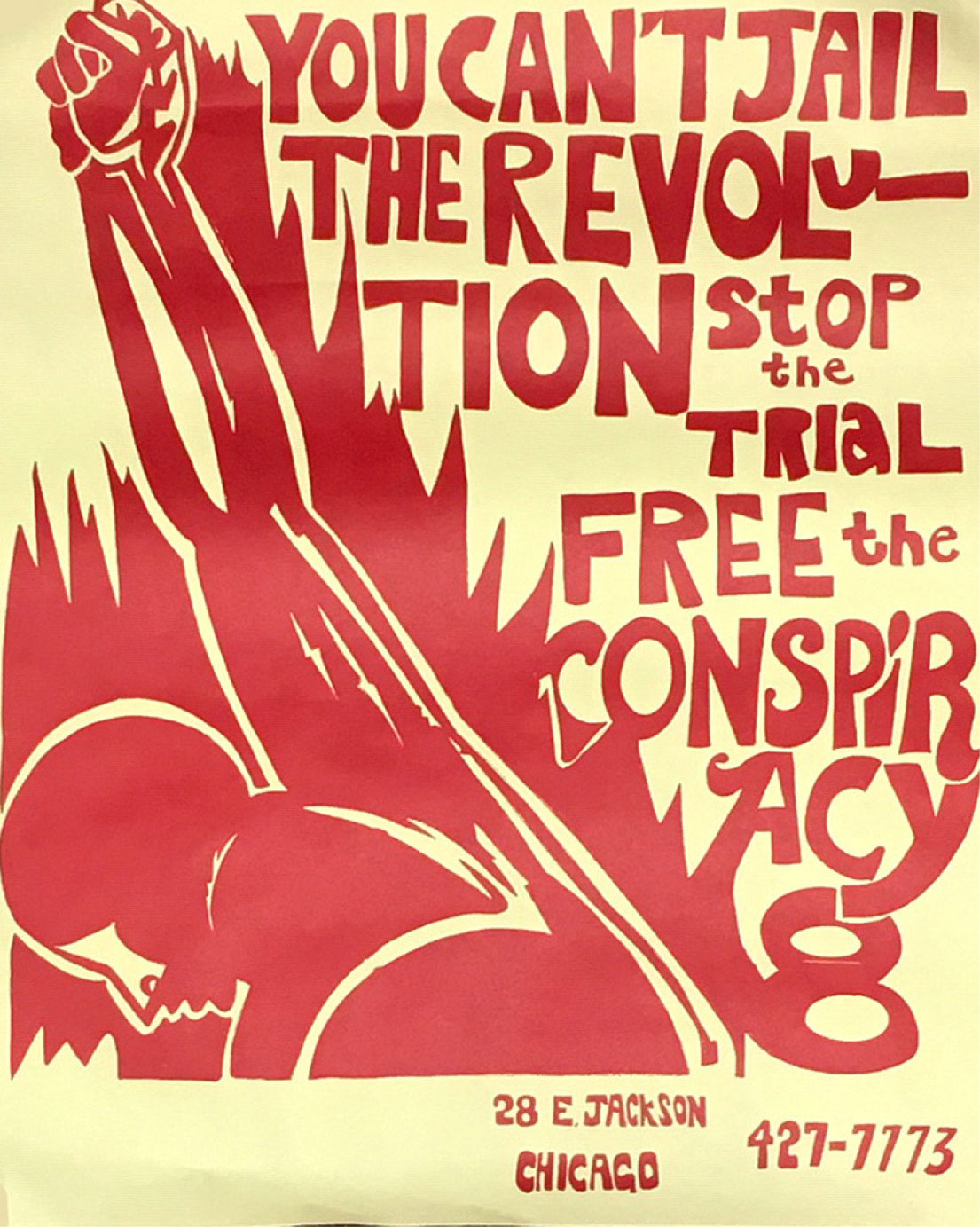 You Can't Jail the Revolution, Free the Chicago 8