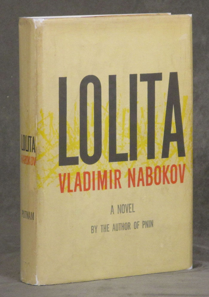 Lolita by Vladimir Nabokov (First American Edition, 1958)