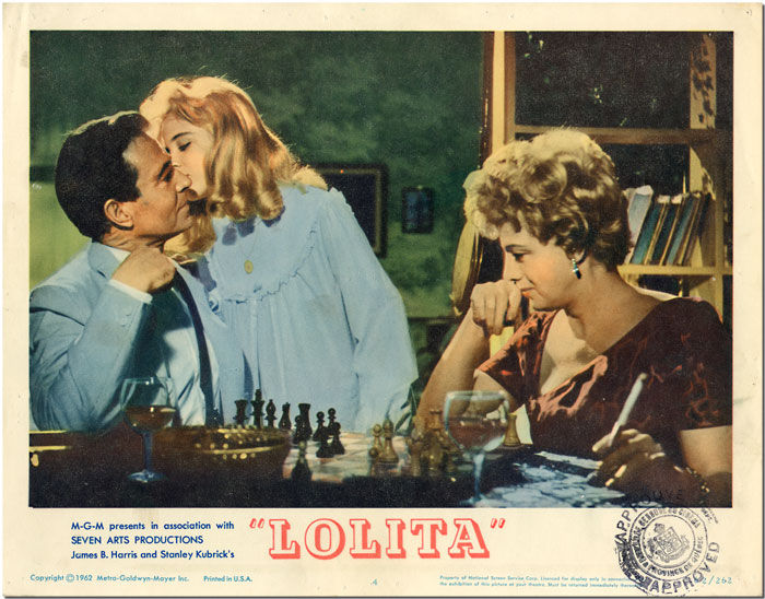 Original Studio Lobby Card for Lolita (MGM)