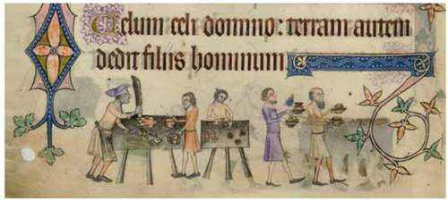 from Luttrell Psalter