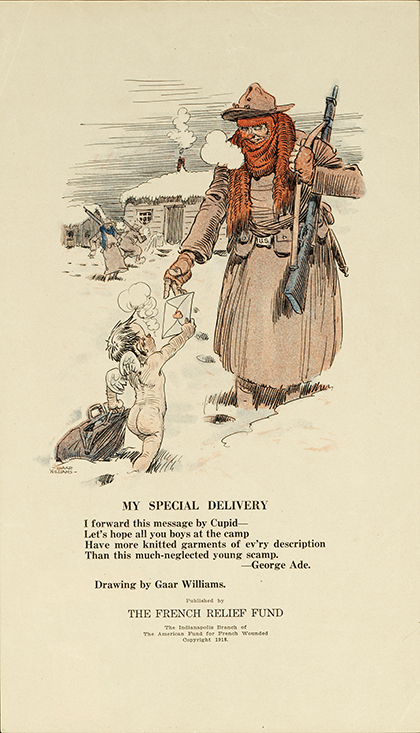 My Special Delivery Rare WWI Valentine