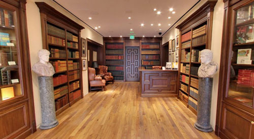 Raptis Rare Books, Interior