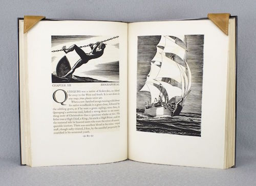 Pussy looks moby dick rockwell kent three volumes