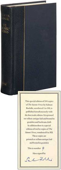 The Satanic Verses, First Edition