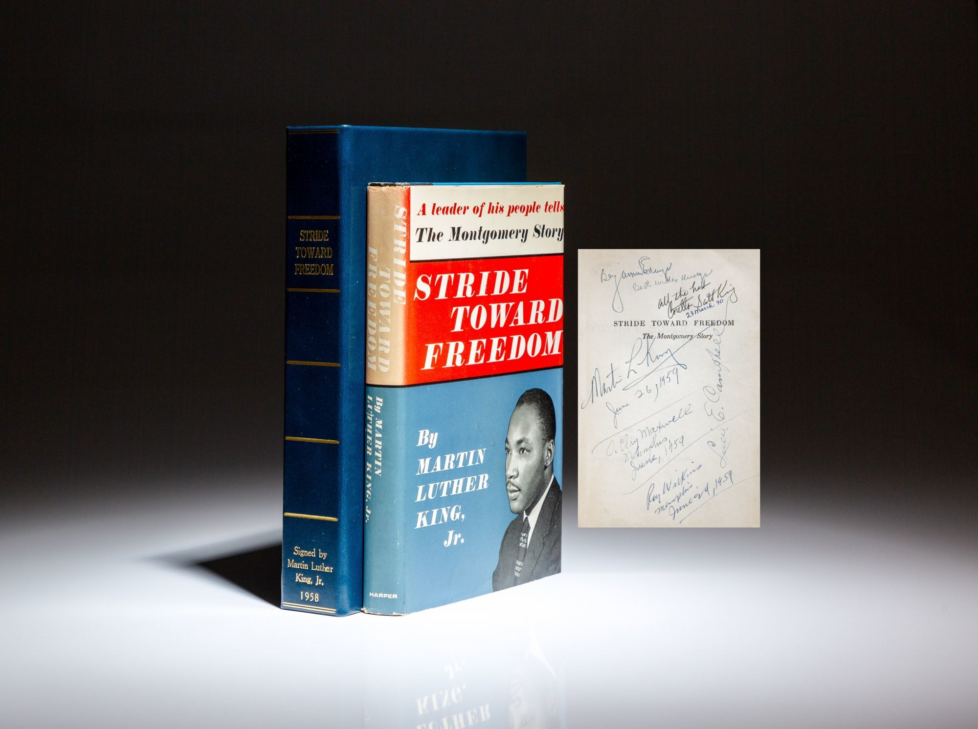 Stride Towards Freedom, Martin Luther King, Jr.