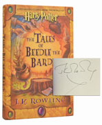 Tales of Beedle the Bard, Signed by JK Rowling