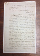 Thomas Cushing document