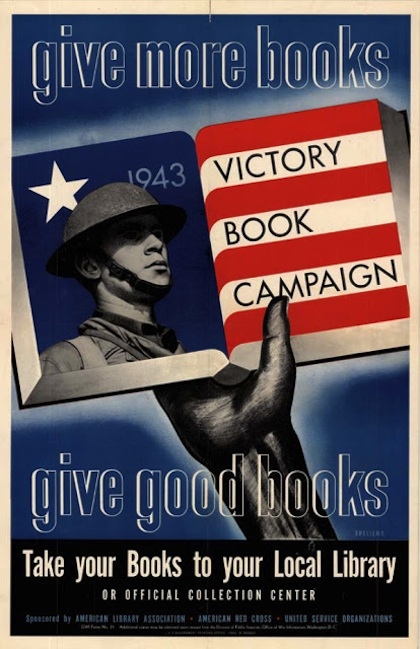 Victory Book Campaign Poster