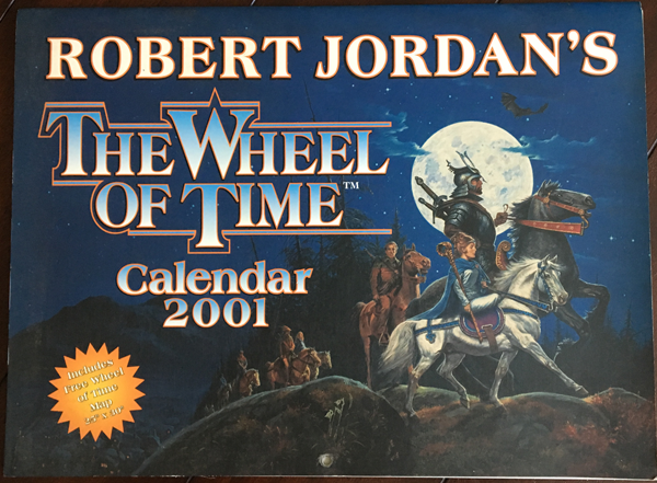 2001 Wheel of Time Calendar