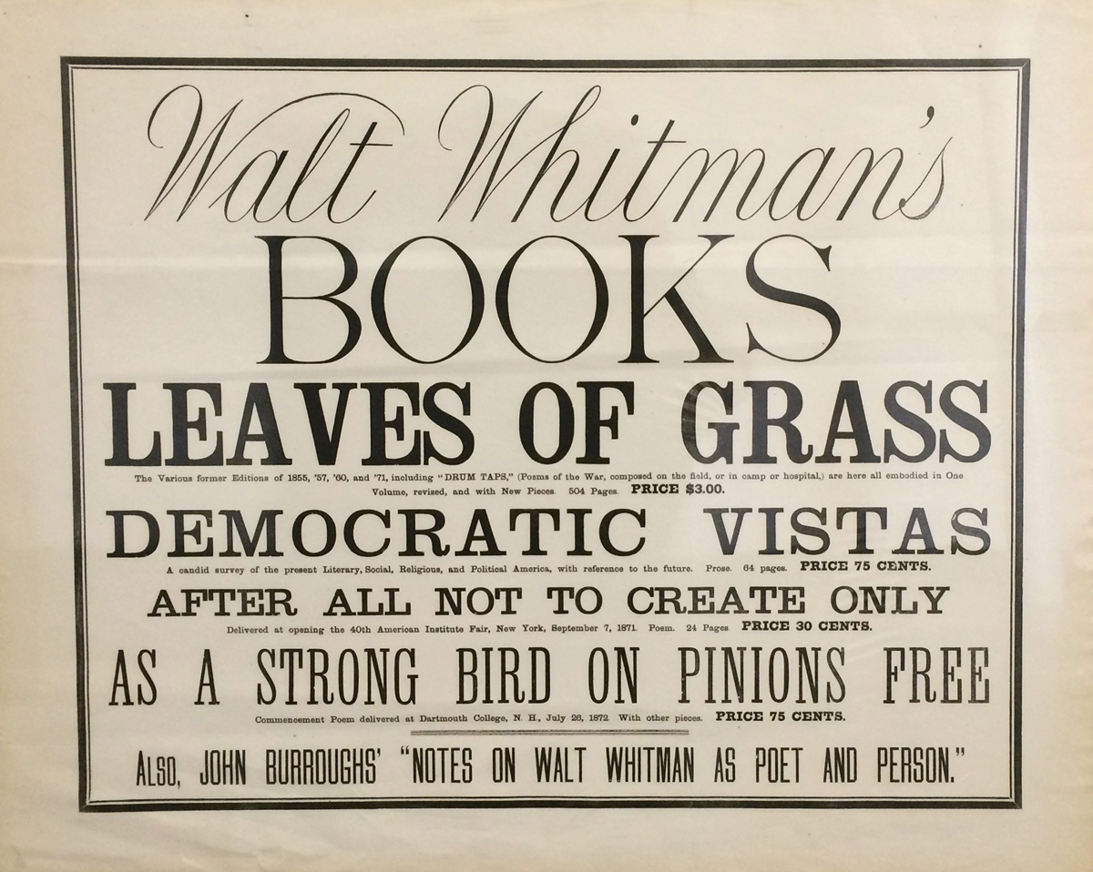 Walt Whitman's Books