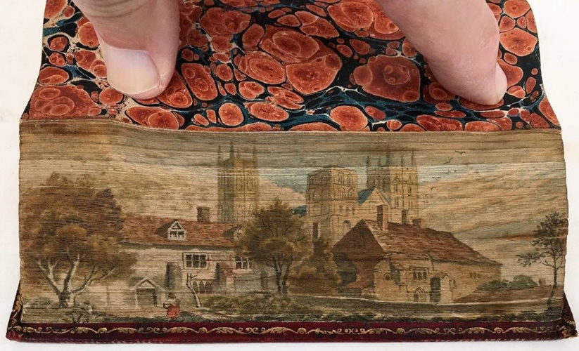 Bible (fore-edge paintings)