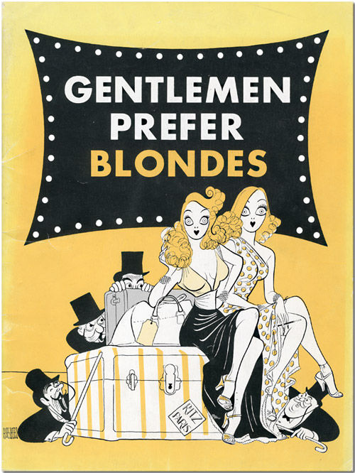 Gentlemen Prefer Blondes (Playbill)