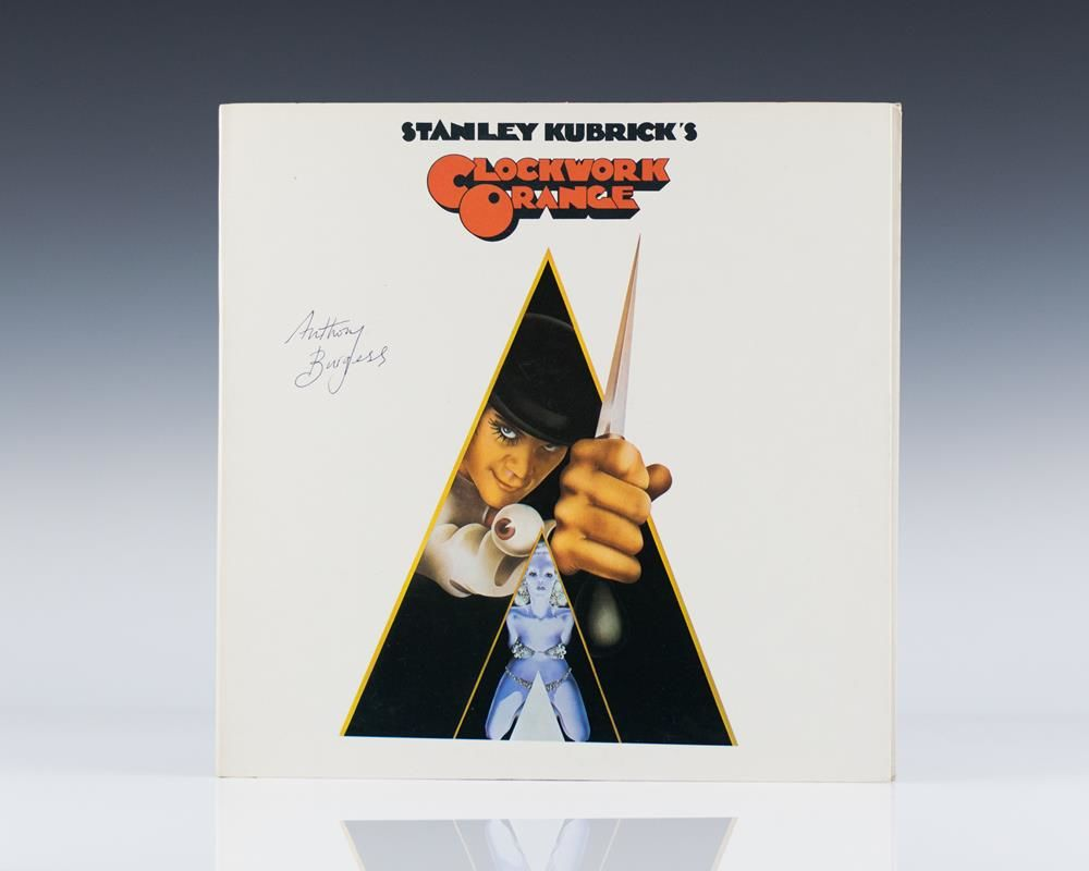 A Clockwork Orange (Signed by Anthony Burgess)