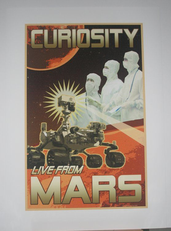Curiosity: Live from Mars