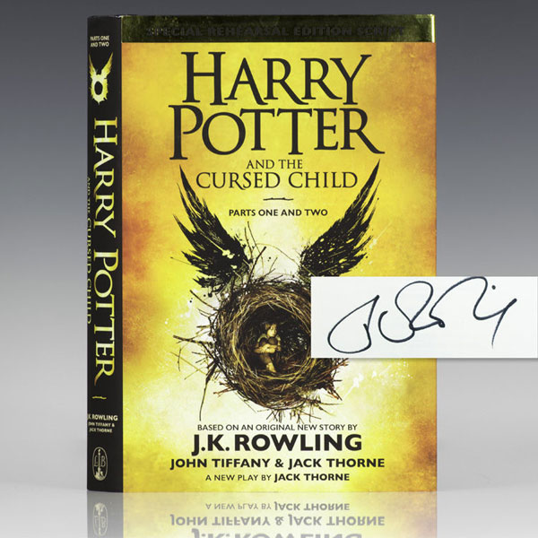 Cursed Child (Signed) J.K. Rowling