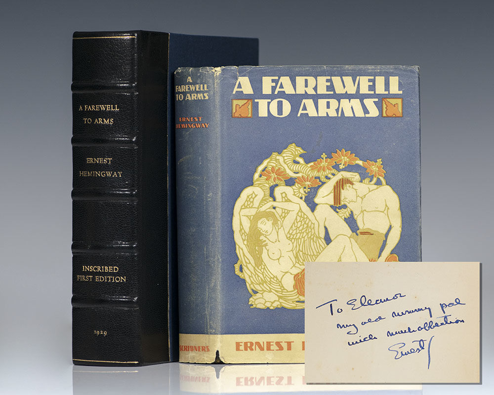 A Farewell to Arms, Ernest Hemingway (First Edition)