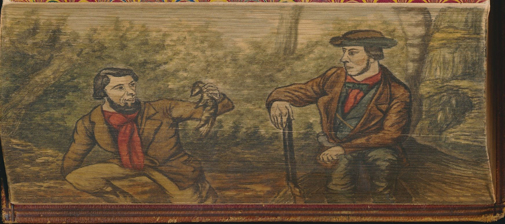 Fore Edge Painting