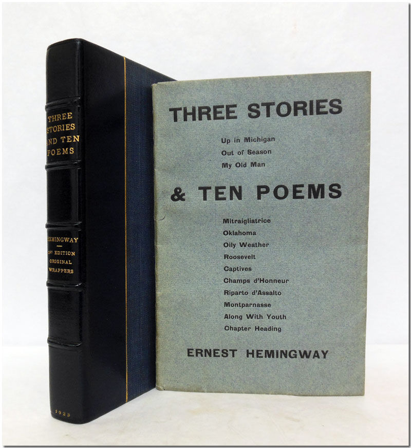 Ernest Hemingway, Three Stories and Ten Poems