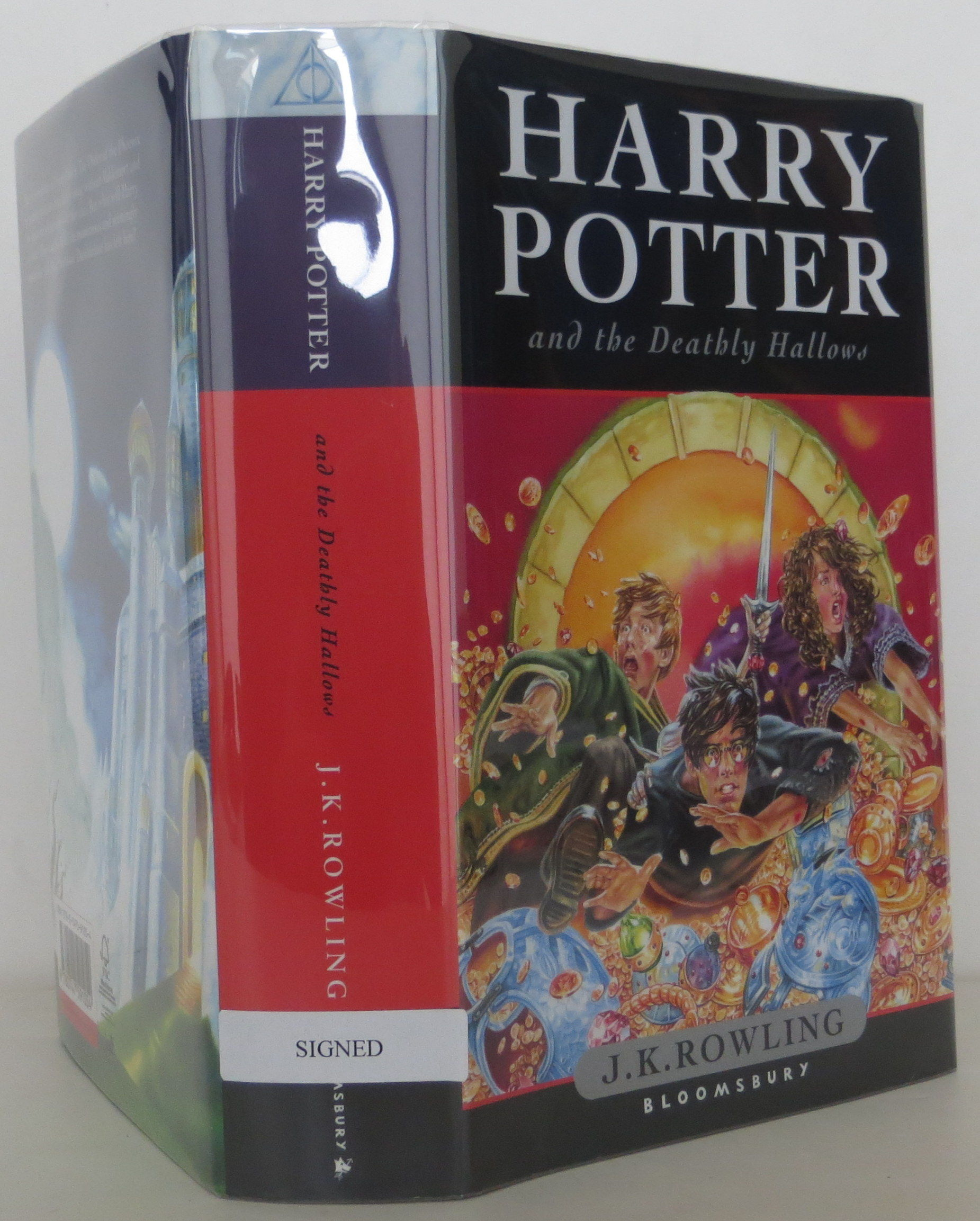 Deathly Hallows Signed