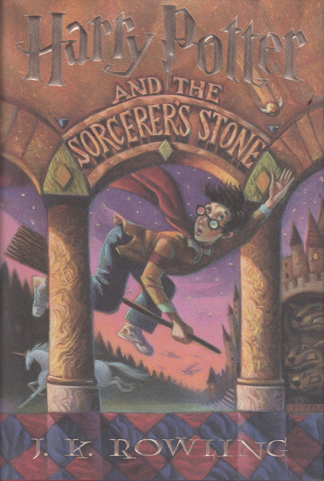 Harry Potter and the Sorcerer's Stone (Signed)