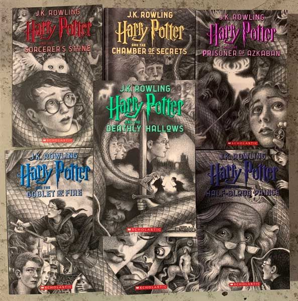 Collecting Harry Potter | The New Antiquarian | The Blog of