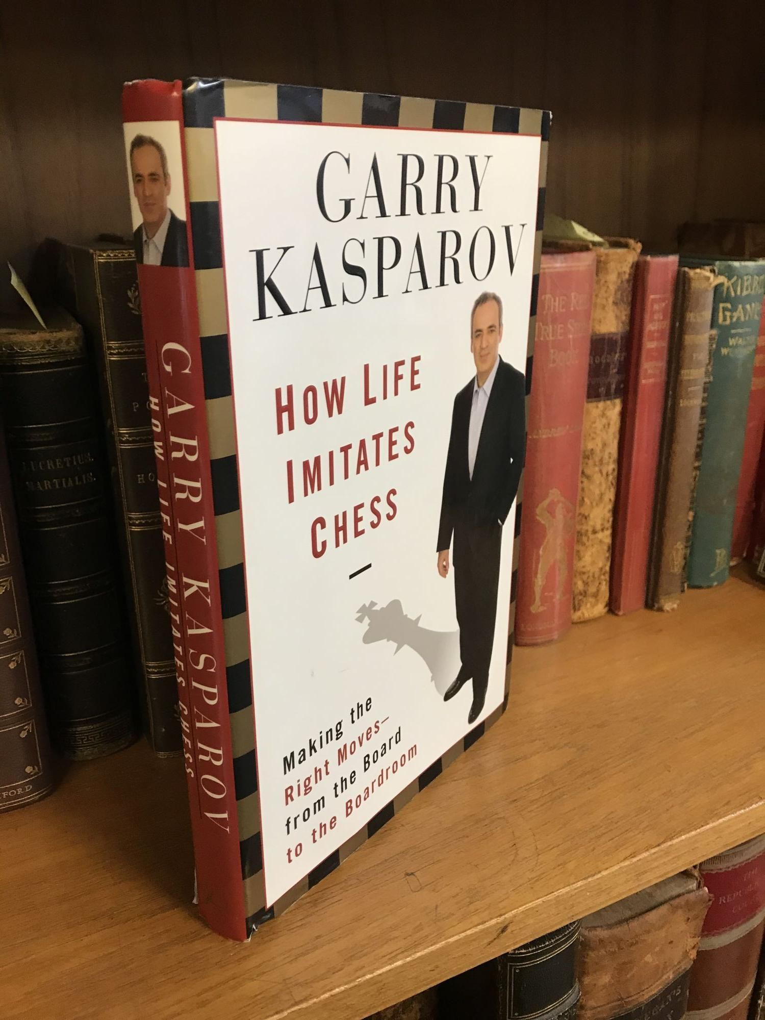 Kasparov, How Life Imitates Chess