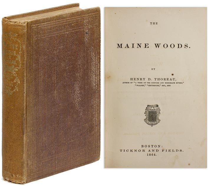 The Maine Woods (First Edition)