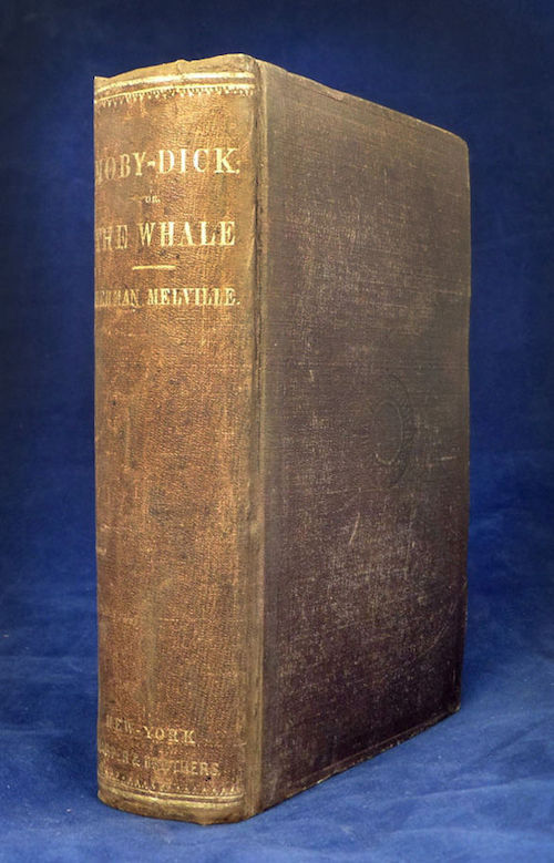 Moby Dick, First American Edition