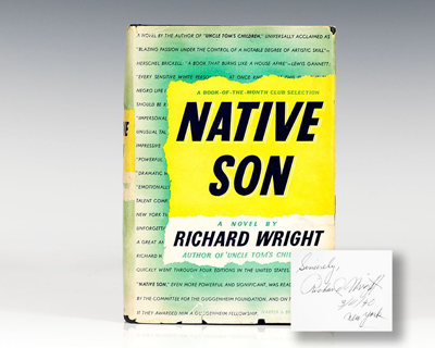 Native Son, Signed